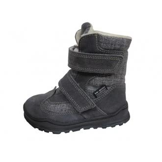 Dětské zimní membránové boty Jonap 024S Šedá