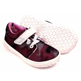 Dětské barefootové boty Jonap B7V Vínová