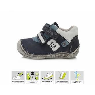 Dětské celoroční barefootové boty DDStep 018-43C