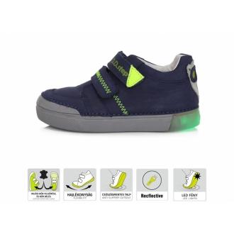 Dětské celoroční blikací boty DDStep 068-402L