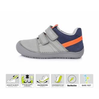 Dětské celoroční barefootové boty DDStep 063-293M