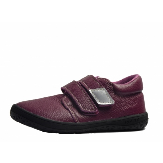 Dětské barefootové boty Jonap B1MV Vínová