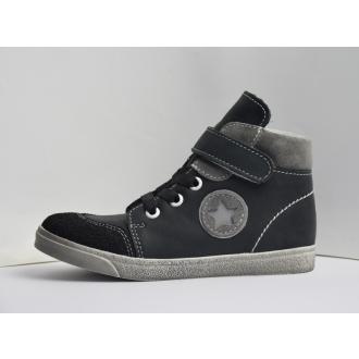 Dětské celoroční boty JOnap 050MV Černá hvězda