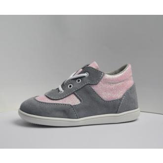 Dětské celoroční boty Jonap 051S Šedo/Růž/Devon