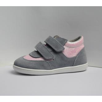 Dětské celoroční boty Jonap 051SV Šedo/Růž/Devon