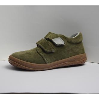 Dětské celoroční barefootové boty Jonap B1SV Khaki