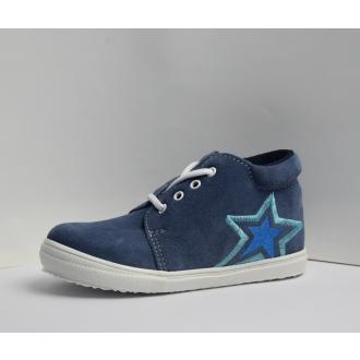 Dětské celoroční boty Jonap 022S Modrá hvězda