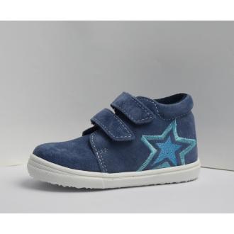 Dětské celoroční boty Jonap 022SV Modrá hvězda