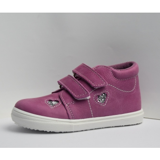 Dětské celoroční boty JOnap 022MV Růž srdce