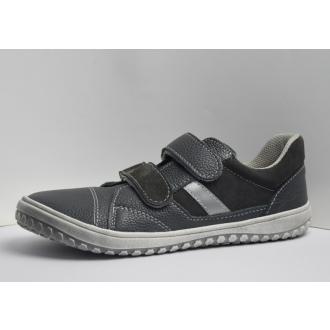 Dětské celoroční barefootové boty Jonap B10MV Šedá