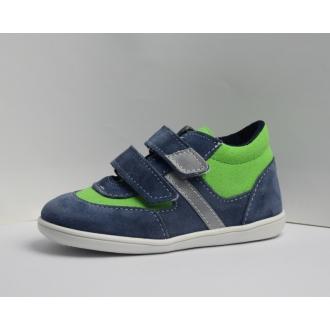 Dětské celoroční boty Jonap 051SV Modro/Zel