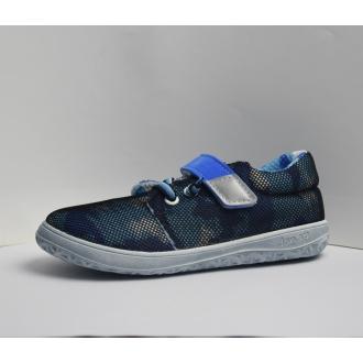 Dětské barefootové boty Jonap B7V Modrá