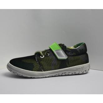 Dětské barefootové boty Jonap B7V Zelená
