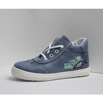 Dětské celoroční boty Jonap 011M Modrá Bagr