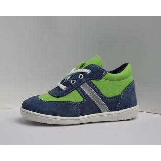 Dětské celoroční boty Jonap 051S Modro/Zel