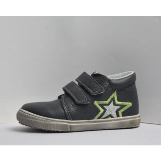 Dětské celoroční boty Jonap 022MV Šedá Hvězda