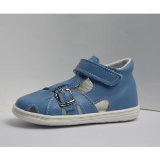Dětské capáčky Jonap 009M Modrá hladká