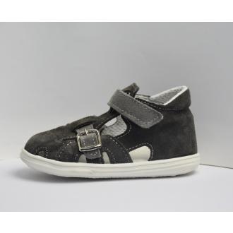 Dětské sandály Jonap 009S Tm.Šedá
