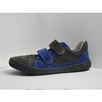 Dětské barefrootové boty Jonap B10V Šedo/Modr