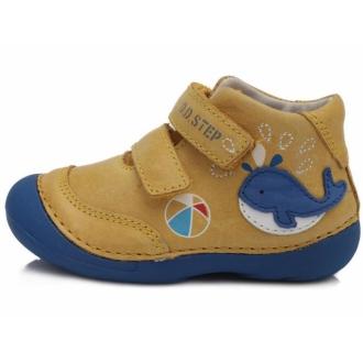 Dětské celoroční boty DDStep 015-198A