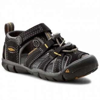 Dětské sandály Keen SEACAMP Black/Yellow
