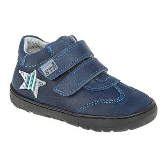 Dětské celoroční boty KTR 190/1 Modrá Hvězda schz