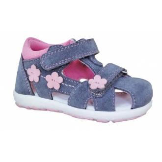 Violet Grey Dětské sandálky se špičkou Protetika