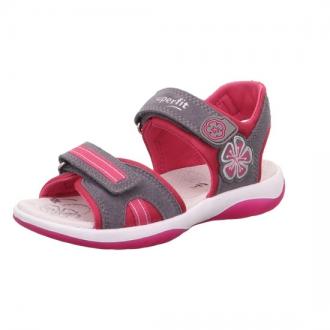 Dívčí sandálky Superfit 0-606127-2500