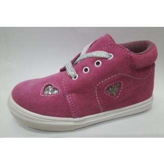 Dětské celoroční boty Jonap 022S Růž srdce