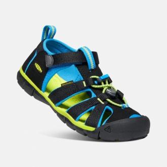 Dětské sandály Keen SEACAMP SEACAMP Black/brilliant blue