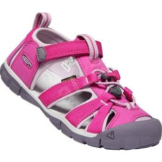 Dětské sandály Keen Seacamp Very Berry/Dawn pink