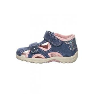 Dětské sandály Lurchi MOMO JEANS ROSE 33-16048-42