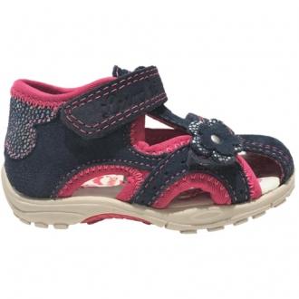 Dětské sandály Lurchi MOMO navy pink  33-16048-22