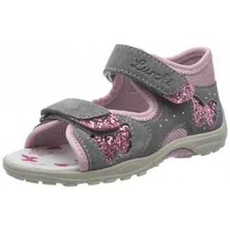 Dětské sandály Lurchi MARZIA Grey Rose 33-16049-25