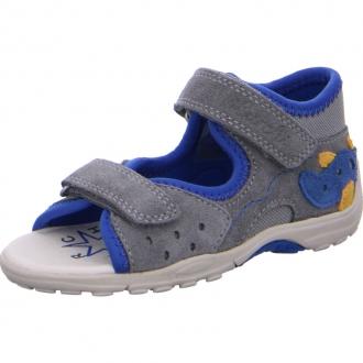 Dětské sandály Lurchi MIKO Grey 33-16050-25