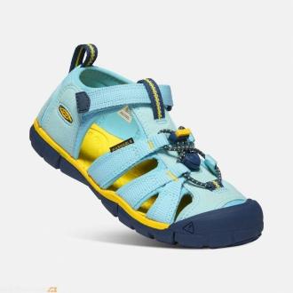 Dětské sandály Keen Seacamp Petit four/keen yellow
