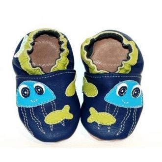 Dětské capáčky Fiorino Medůza na modré