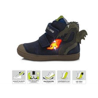 Dětské celoroční boty DDStep 049-234