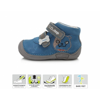 Dětské barefootové boty DDStep 018-58