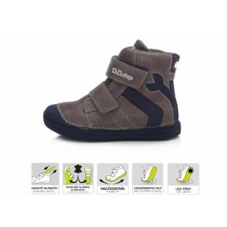 Dětské zimní blikací boty DDStep 049-359