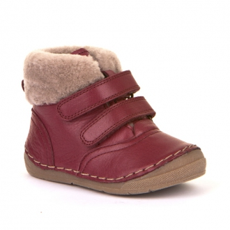 G2110088-1 BORDEAUX Dětské zimní boty Froddo s kožešinkou