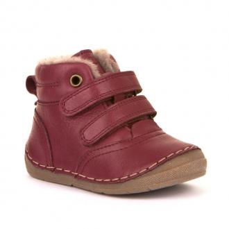 G2110087-10 BORDEAUX Dětské kožené zimní boty Froddo