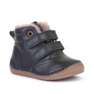 G2110087 DARK BLUE  Dětské zateplené boty Froddo