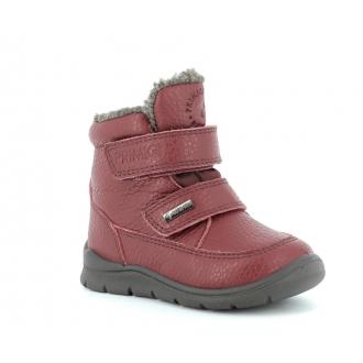 Primigi 6358222 Kožené zimní boty pro děti