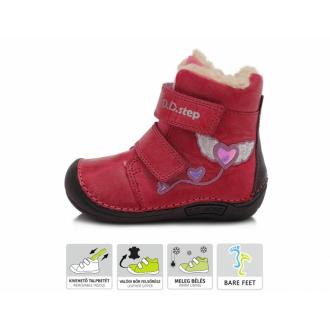 Dětské zimní barefoot boty DDStep 018-305