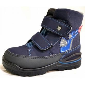 Dětské zimní membránové blikací boty Ricosta BIXI 3931500/172