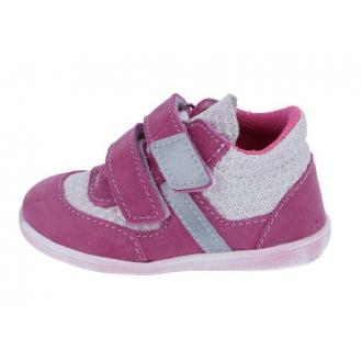 Dětské celoroční boty Jonap 051MV Růž TISK