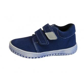 Dětská celoroční barefootová obuv Jonap B1SV Modrá
