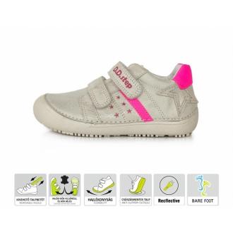 Dětské celoroční barefootové boty DDStep 063-932
