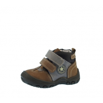 7d5aa7eeede Dětské celoroční boty Bugga B007 hnědá